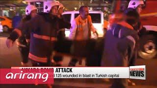 At least 32 dead in Ankara car bomb attack