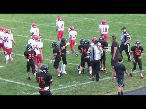 Hugoton vs Colby 8th Football 9-27-18