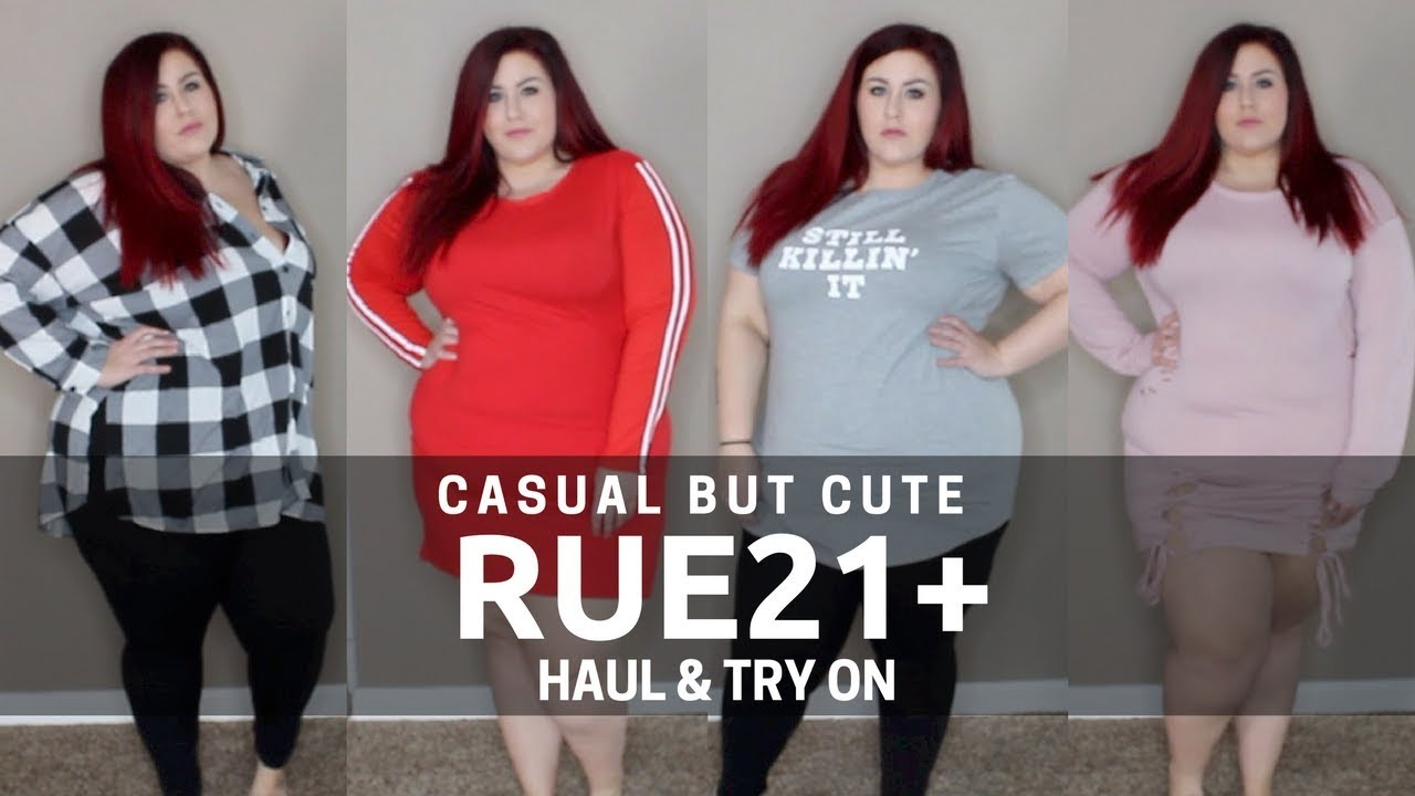 391efe1928c Casual but Cute - Plus Size Rue21 Haul and Try On - YouTube