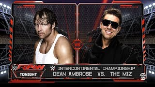 Dean Ambrose crashes The Miz's Intercontinental Title Comeback Tour Celebration: Raw, June 5, 2017