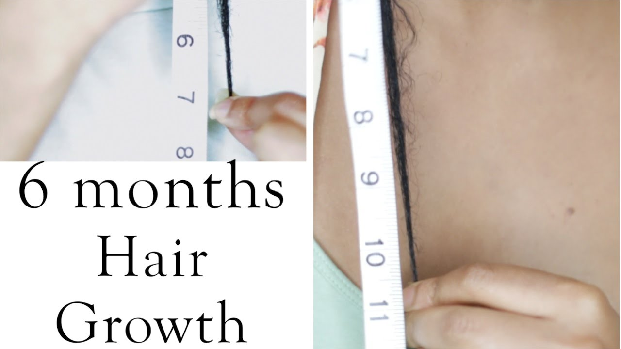 Length check natural hair growth in 6 months youtube urmus Image collections