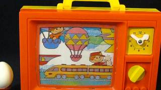 Vintage music box for babies (television) series