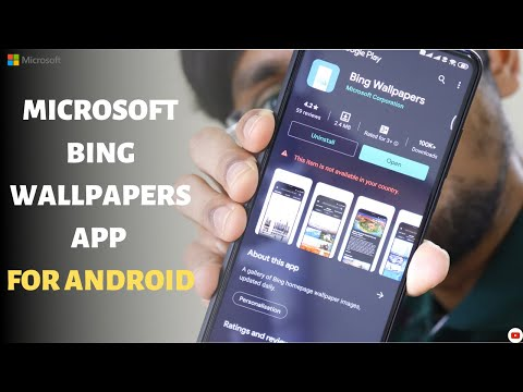 Microsoft Bing Wallpapers App For Android   Bing Wallpapers