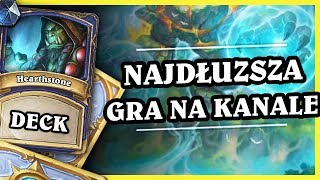 NAJDŁUŻSZA GRA NA KANALE - ELEMENTAL SHUDDER SHAMAN - Hearthstone Deck (The Boomsday Project)