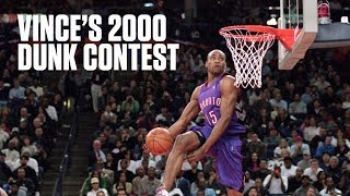 Vince Carter puts on a show in legendary 2000 Slam Dunk Contest | NBA Highlights Video