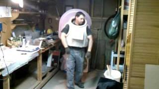 Mark IV Space Suit EVA EMU test fitting