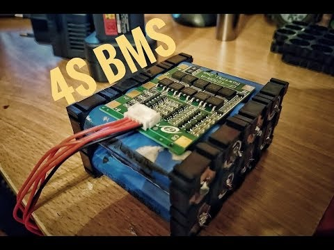 <b>4s lithium battery</b> with bms - YouTube