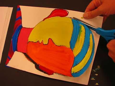 Pablo Picasso Cubist Portrait by Lorri