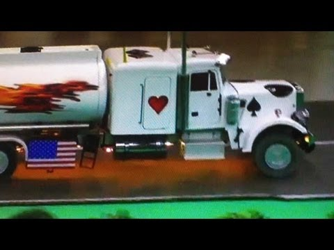 peterbilt milk tanker milch lkw truck radio remote controlled modellbau ferngesteuert youtube. Black Bedroom Furniture Sets. Home Design Ideas