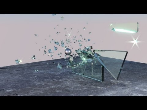 Tut 89 - Deutsch: Blender Rigid Body mit Cell Fracture - Gla