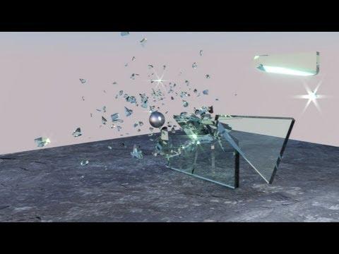 Tut 89 - Deutsch: Blender Rigid Body mit Cell Fracture - Glasbruch / shattered Glass