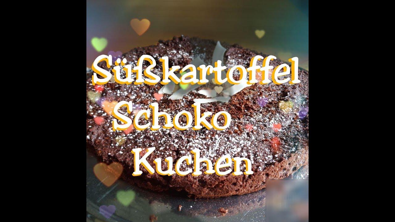 Susskartoffelkuchen Schokokuchen Paleo Ruck Zuck Gesunder