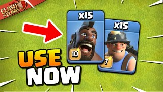 Hybrid AFTER the Balance Changes! Live Town Hall 13 Attacks (Clash of Clans)