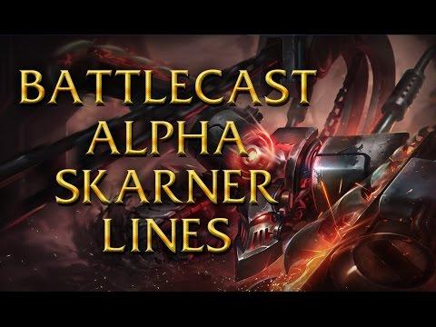 LoL Voices - Battlecast Alpha Skarner - All 16 languages