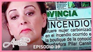 Amarte es mi pecado: Isaura acaba con la vida de Pilar | Escena C-39 | tlnovelas