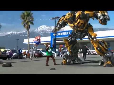 Mobil Berubah Jadi Robot Transformer