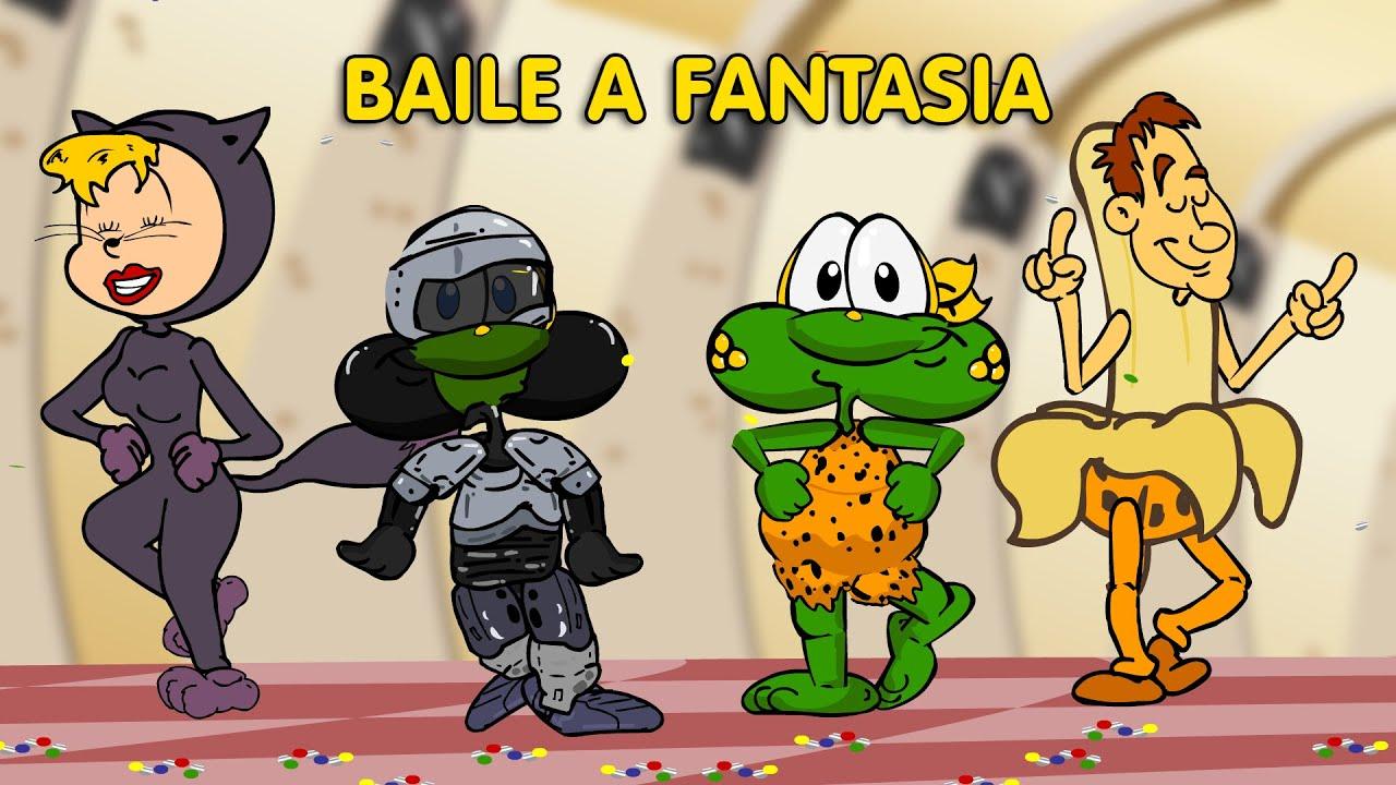 Sapo Brothers No Baile A Fantasia Desenho Animado Brasileiro