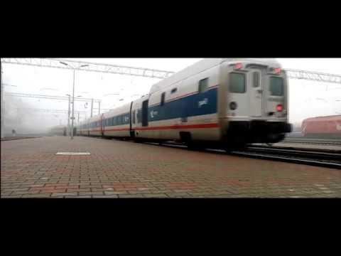 Moscow-Berlin international express train