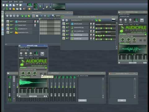 Linux Multi Media Studio - LMMS Part #1