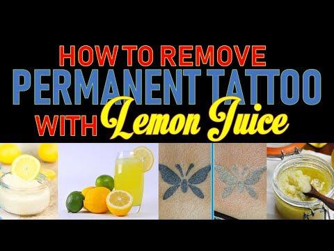Operatic Space Trash - Does Lemon Juice Fade Tattoos?