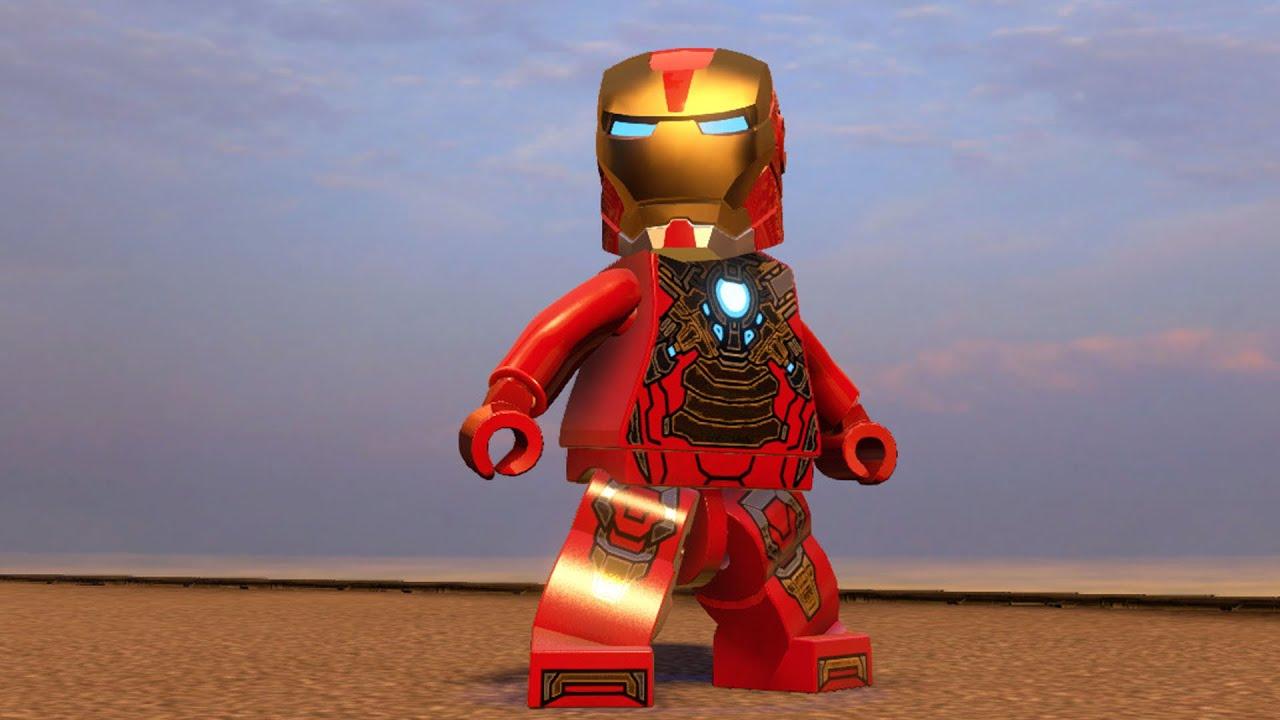 LEGO Marvel's Avengers - Iron Man MK17 Heartbreaker | Free ...
