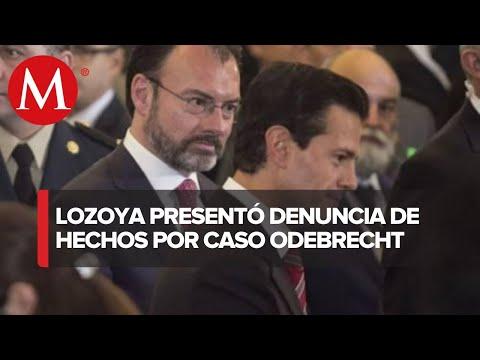 Lozoya acusa que Peña Nieto y Videgaray ordenaron sobornos de Odebrecht