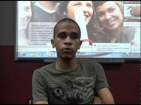 Luis Coelho's (Mozambique) testimony at AU Miami