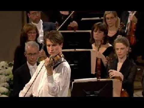 Lorenzo Gatto | Paganini Violin Concerto # 1 | 1st Mvt | Queen Elisabeth Violin Comp | 3 of 3 | 2009