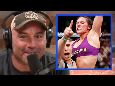 Joe Rogan STUNNED By Cat Zingano Explaining Why She Fights