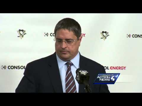 Penguins news conference on Ray Shero (Part 2)