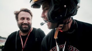Marteria & Paul Ripke bei der Formel 1
