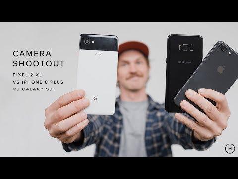 Google Pixel 2 XL vs iPhone 8 Plus vs Samsung Galaxy S8+  | CAMERA SHOOTOUT