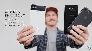 google pixel 2 xl vs iphone 8 plus vs samsung galaxy s8   camera shootout
