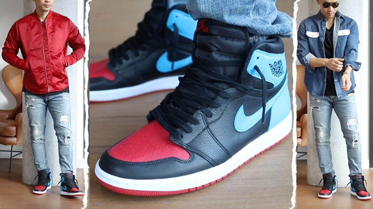4 Ways To Style Air Jordan 1 Unc To Chi Tailored Hype Youtube