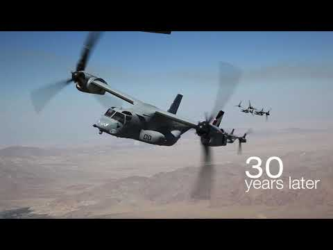 THREE DECADES | Bell-Boeing V-22 Osprey Anniversary