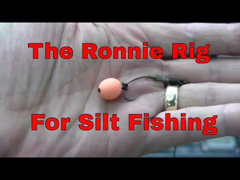 SANDHURST LAKE The Ronnie Rig For Silt Fishing Demostrated By Graham Rowland Vardis Tackle