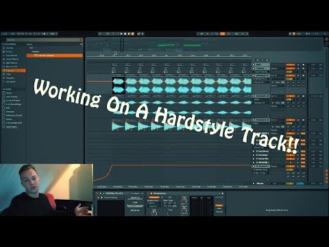 \\ WORKING ON A HARDSTYLE TRACK // Husman In The Studio #003