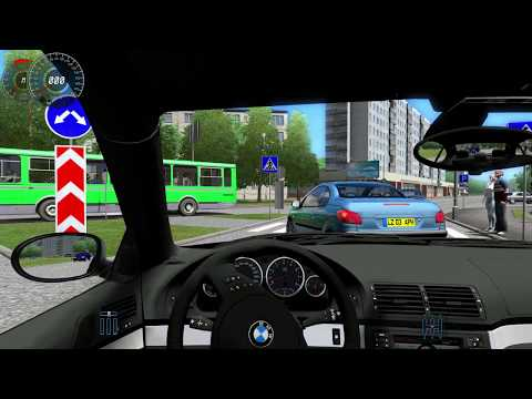 City Car Driving 1.3.3 BMW M5 E39 35. Min Free Drive HD G27