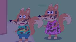 Fox Family and Friends new funny cartoon for kids full episode The Fox Cartoons #716