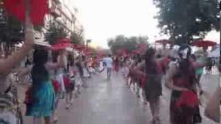 浸信會呂明才中學舞蹈組20130801塞爾維亞舞蹈交流 短片