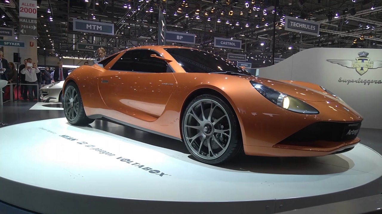 Artega Scalo Superelletra World Premier at Ginevra International Motor Show 2017