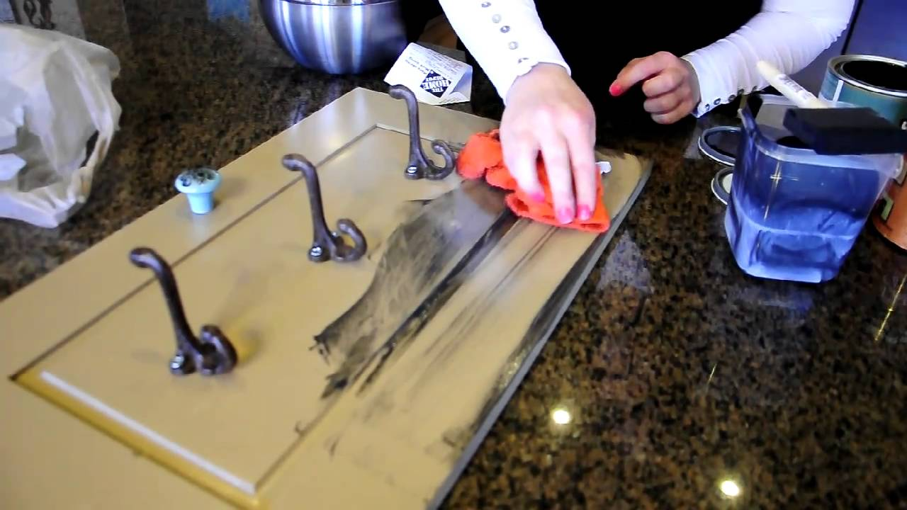 How to glaze furniture - How To Glaze Furniture - YouTube