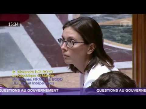 Ma question à Amélie de Montchalin, Secrétaire d'Etat aux affaires européennes, sur le Brexit