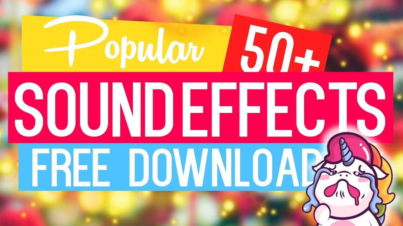 Popular Sound Effects Youtubers Use #1 [Free Download]