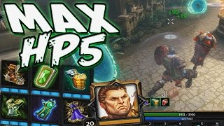 Smite: Hercules MAX HP5 Build - THE BATTLE OF THE BONOBOS!