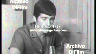 DiFilm - Hector Veira habla de su futuro en San Lorenzo (1966)