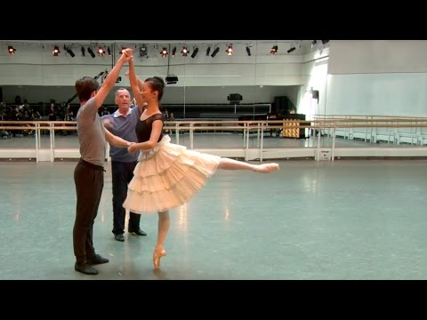Frederick Ashton's The Two Pigeons in rehearsal – World Ballet Day 2015