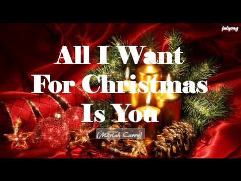 Karaoke All I Want For Christmas Is You - Video with ...
