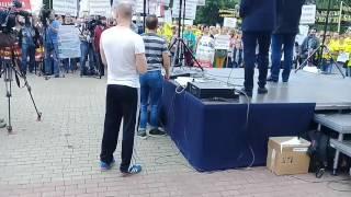 Митинг обманутых дольщиков Московской области в Красногорске 02.07.2017