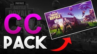 Free Fortnite CC Pack - Photoshop | 1K Subs Special Pack